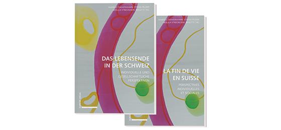"""This picture shows the book """"Das Lebensende in der Schweiz"""""""
