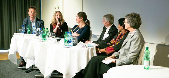 "Table ronde internationale lors de la conférence ""Gender and Excellence"" © SNF"