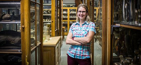 Zuzana Musilová, biologiste de l'évolution à l'Université Charles de Prague, a reçu un subside PROMYS du FNS.
