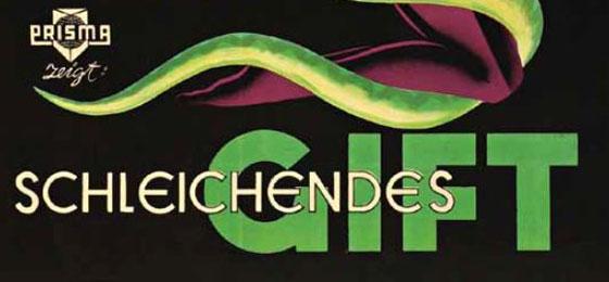 """Cette image montre l'affiche du film éducatif """"Schleichendes Gift"""" © Cinetext/RR"""
