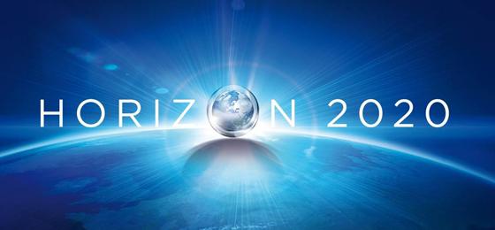"""Eine Weltkugel mit dem Schriftzug """"Horizon 2020"""". © Horizon 2020"""