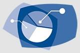 Piktogramm Statistiken mit Kuchendiagrammen. © SNF