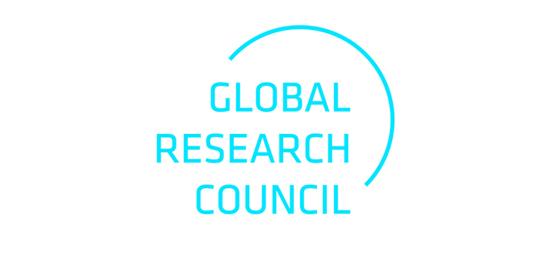 Cette image montre le logo du Global Research Council. © GRC
