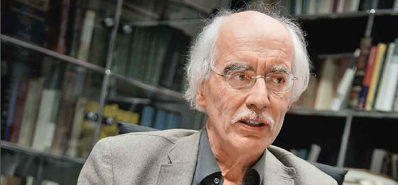 Reinhard Schulze, den Direktor des Instituts für Islamwissenschaft und Neuere Orientalische Philologie © Valérie Chételat